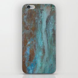 Patina Bronze rustic decor iPhone Skin