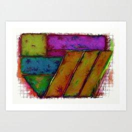 Tilt 2 Art Print