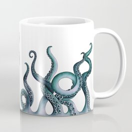 Kraken Teal Coffee Mug