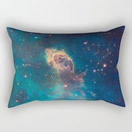Stellar Jet in the Carina Nebula Rectangular Pillow