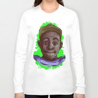 tyler the creator Long Sleeve T-shirts featuring Tyler The Creator II (Green) by ASHUR Collective™