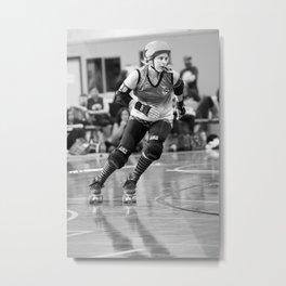 Roller_Derby Metal Print