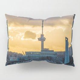 Euromast Rotterdam Skyline Pillow Sham