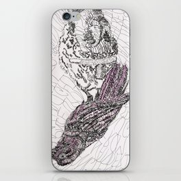 The Raven iPhone Skin