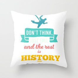 Hobby Bungee Jumping Extreme Sports Throw Pillow