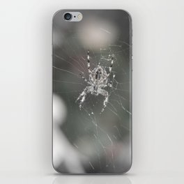 Fluid Nature - Little Garden Spider - Wildlife photography iPhone Skin