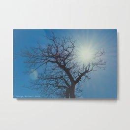 Treelouette Metal Print