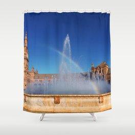 Fuente Shower Curtain