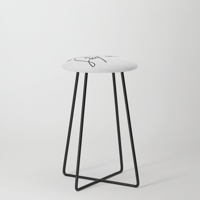 Welcome to the shit-show funny quote Counter Stool
