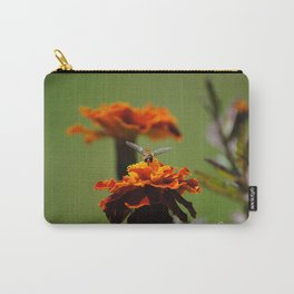 Tagetes mit Besuch Carry-All Pouch