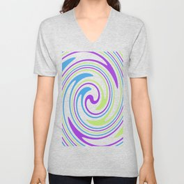 Rotating in Circles Series 01 Unisex V-Neck