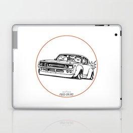 Crazy Car Art 0055 Laptop & iPad Skin