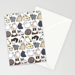 Cats Cats Cats Stationery Cards
