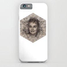 Audrey Hepburn dot work portrait Slim Case iPhone 6s