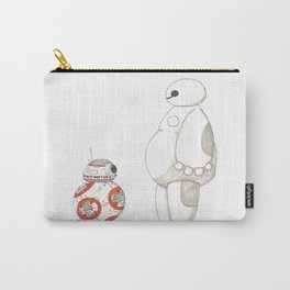 BB8 Meets Baymax Carry-All Pouch