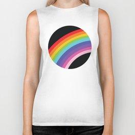 Circular Rainbow Biker Tank