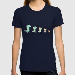 Evolution of a Chicken T-shirt