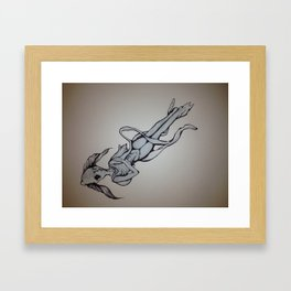 Transformation of a Fish by Kierra Colquitt Framed Art Print