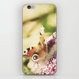 """""""""""I only ask to be free. The butterflies are free.""""  ~ Charles Dickens iPhone Skin"""