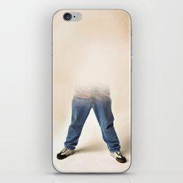 inviable man iPhone Skin