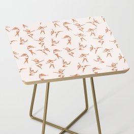 Dance Girl Pattern 002 Side Table