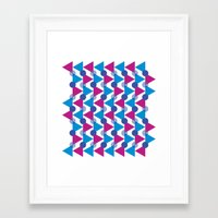 bows Framed Art Prints featuring Bows by Emely Vertiz