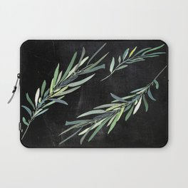 Eucalyptus leaves on chalkboard Laptop Sleeve