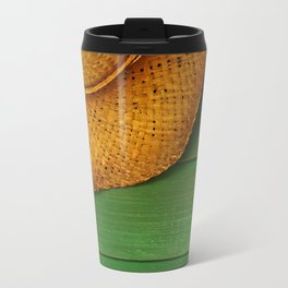 Straw Hat Travel Mug