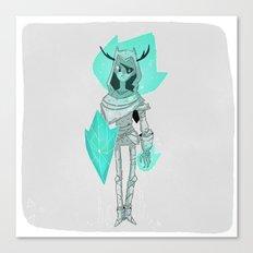 Shield. Canvas Print