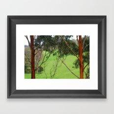 Valley of a Thousand Hills Framed Art Print