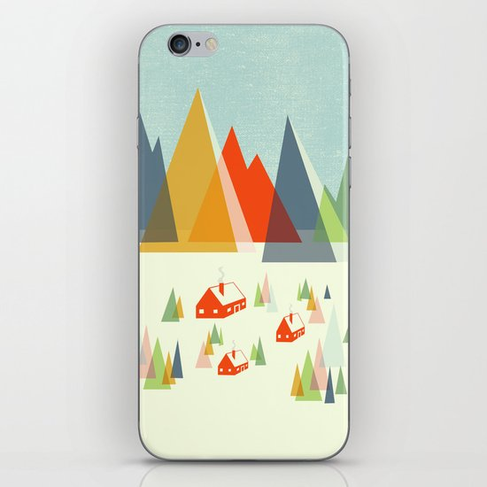 The Foothills iPhone & iPod Skin