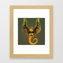 Bat Tongue Framed Art Print