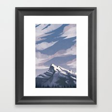 Mountain Light Framed Art Print