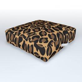 Leopard Print   Cheetah texture pattern Outdoor Floor Cushion