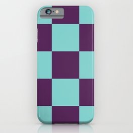 Checker Patchwork Lares iPhone Case