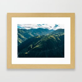 Balds (Colombia) Framed Art Print