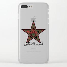 Morocco أُسُود الأطلس (Igrzamn n Atlasi, Atlas Lions) ~Group B~ Clear iPhone Case