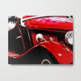Ford V8 Metal Print