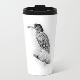 Green Heron. Travel Mug