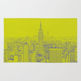 Empire State - Green Rug