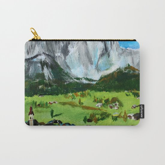 Austria Tyrol Mountains Carry-All Pouch