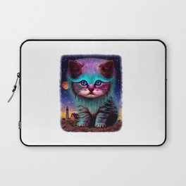 cat space Laptop Sleeve