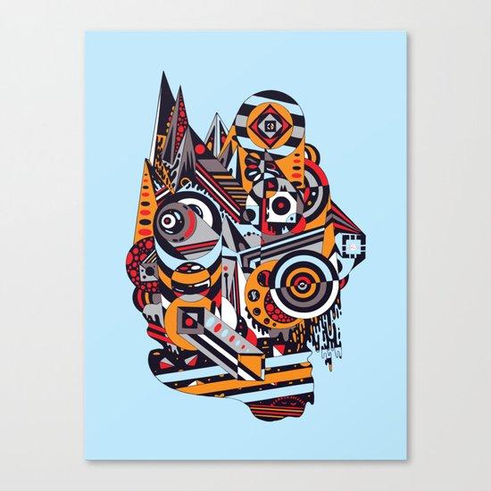 EL BARTO ~ BLUE Canvas Print