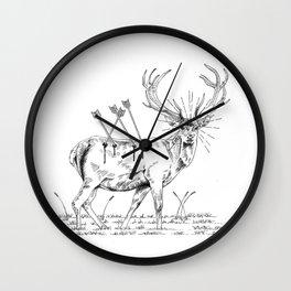 Deerhunting Wall Clock