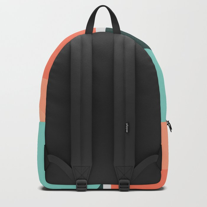 Geometric Landscape 16 Backpack