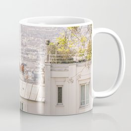 Paris city from Montmartre Coffee Mug