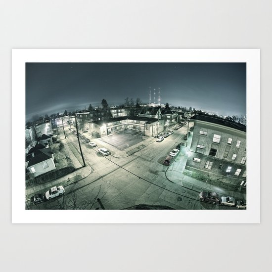 Capitol Hill - Seattle Wa Art Print