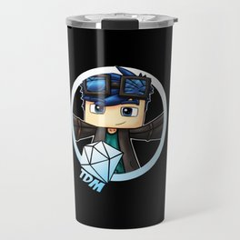 DanTDM Mincraft The Diamond Minecart Travel Mug