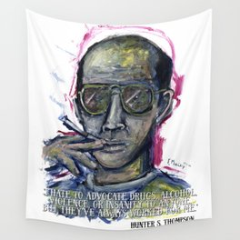 Hunter S. Thompson Wall Tapestry