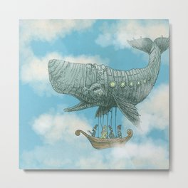 Tea at 2,000 Feet (color option) Metal Print